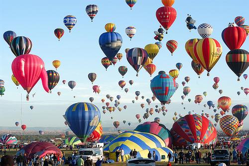 Albuquerque-hot-air-balloons