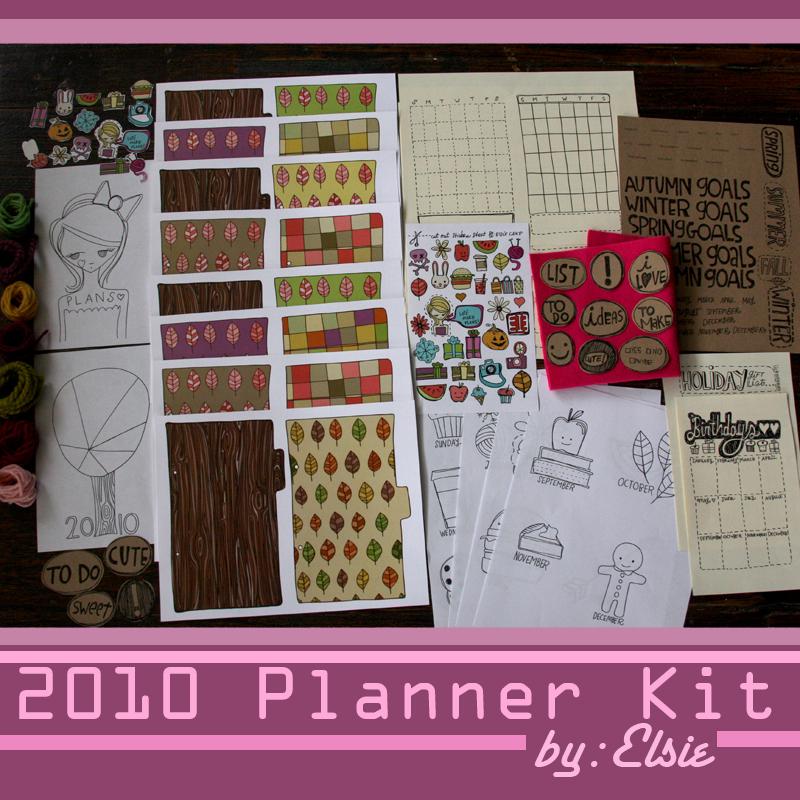 Planner-kit-elsie