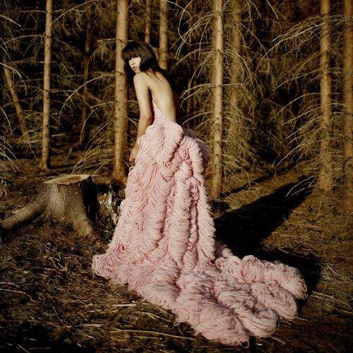 Yarn-dress