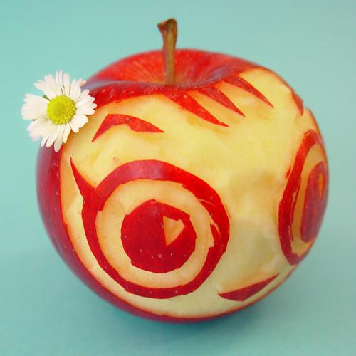 Apple-face