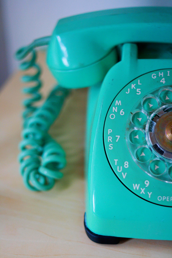 Aqua_phone_vintage