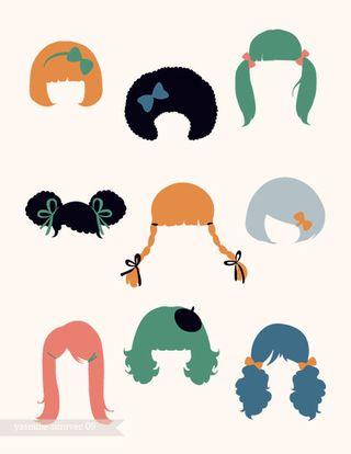 Hair-print