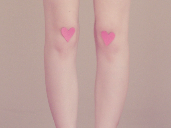 Hearts-on-knees