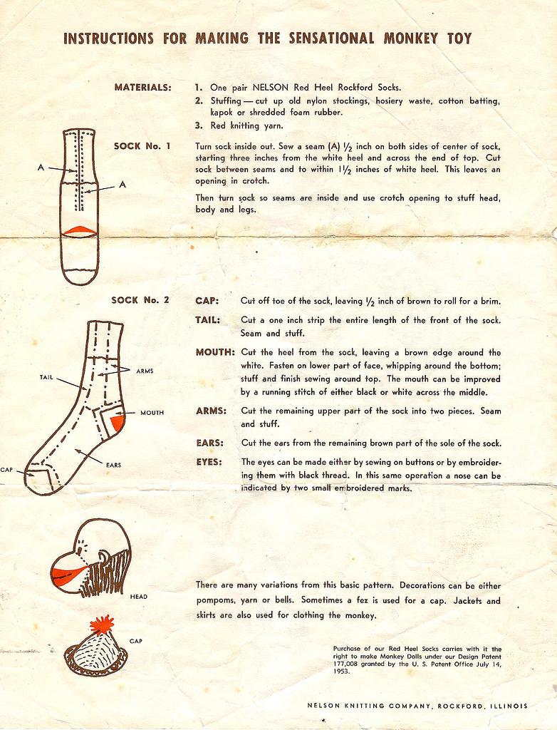 Vintage_sock_monkey_instructions
