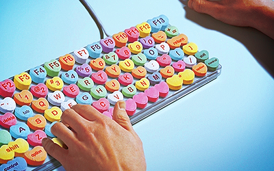 Heart candy keyboard