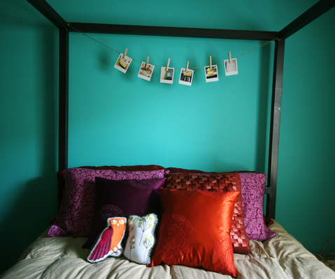 Bed polaroids