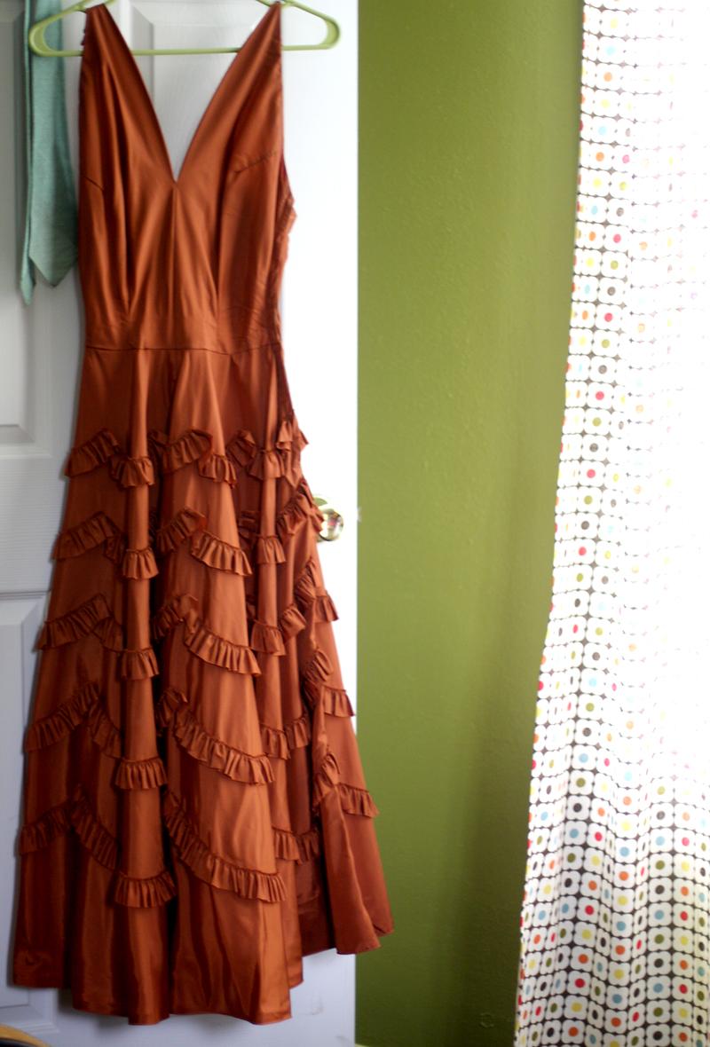Home vintage dress