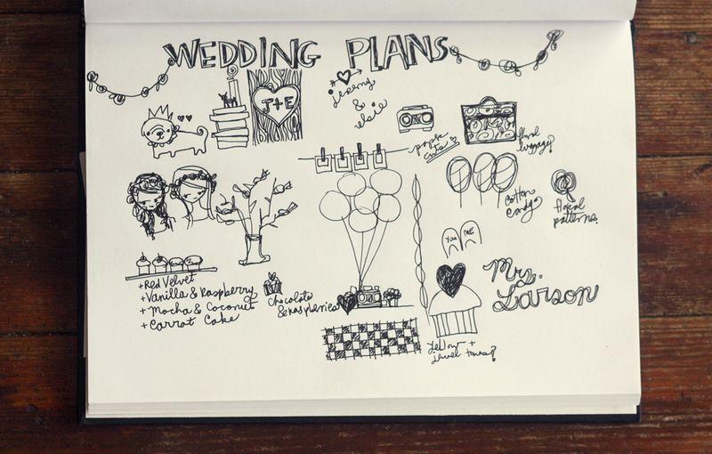 Wedding_plans_sketchbook