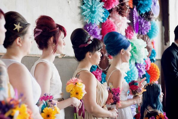 A beautiful mess bridesmaids