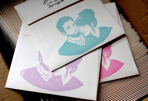 Wedding Invites @ A Beautiful Mess