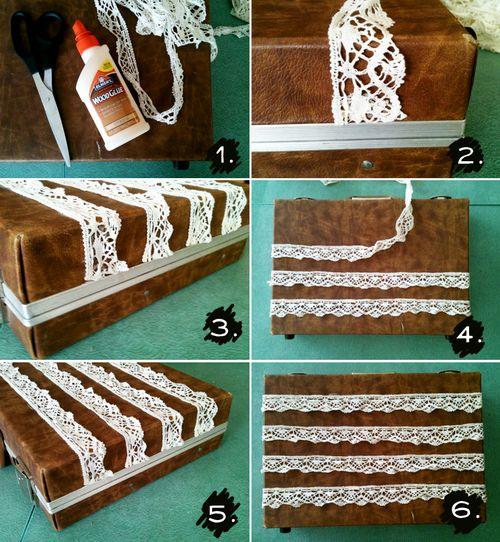 Briefcase steps