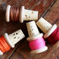 D.I.Y. Thread Spool Wine Corks - November 29, 2011
