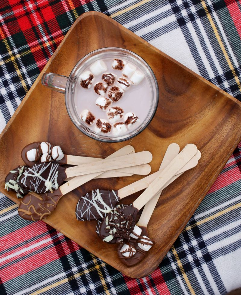 Hot Chocolate Spoons A Beautiful Mess