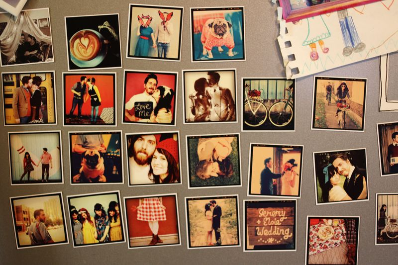 Instagram magnets by StickyGram