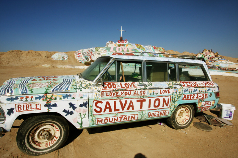 3 salvation mountain