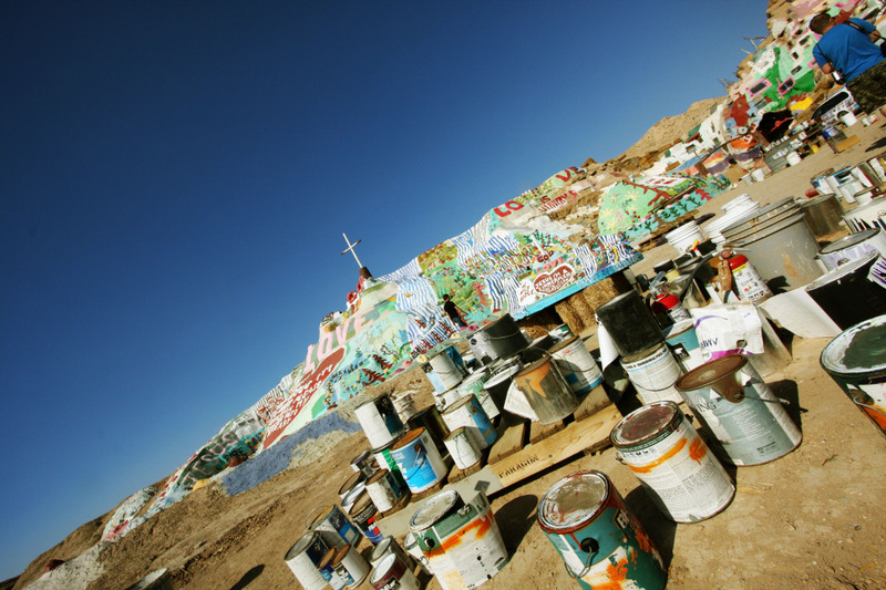 5 salvation mountain
