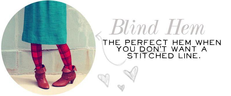 Blind Hem 2