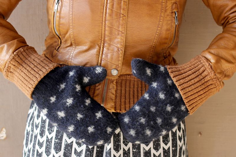 Make your own mittens 4
