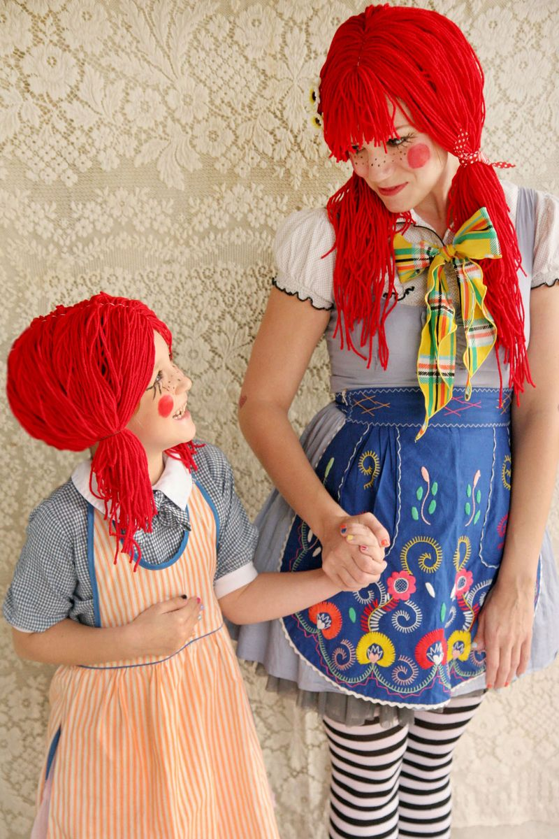 In honor of Halloween I thought it would be fun to gather up a list of some of my very favorite spooky projects from our archives! This Rag Doll Costume ... & My Favorite Halloween D.I.Y. Projects! - A Beautiful Mess