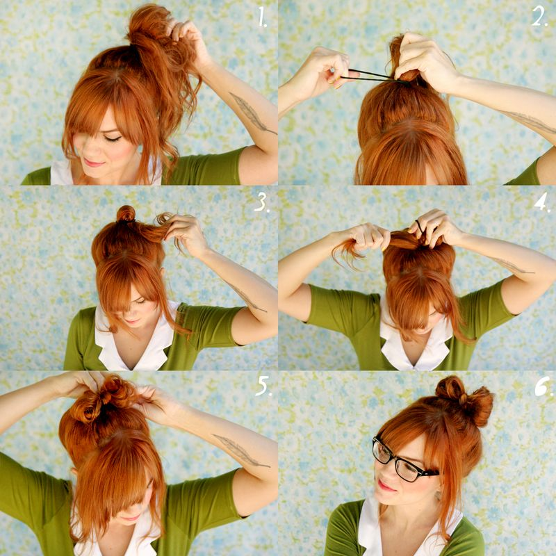 Love bows? We do too! Learn to make a pretty bow with your own hair so ...