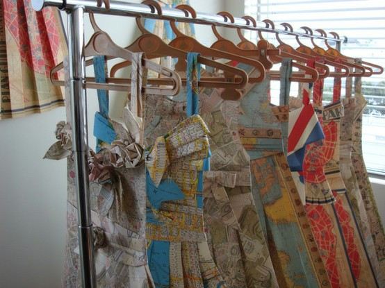 Paper dresses 1