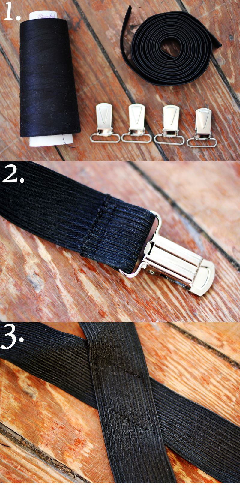 Suspenders steps