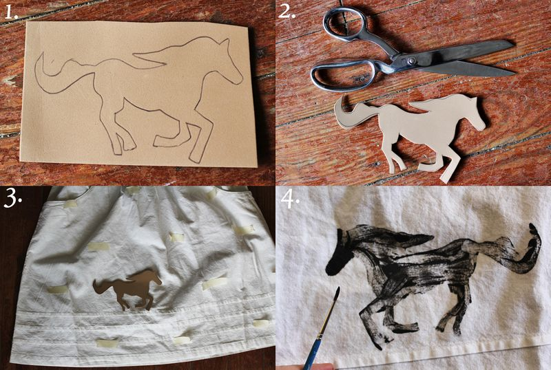 Pony stamp how-to