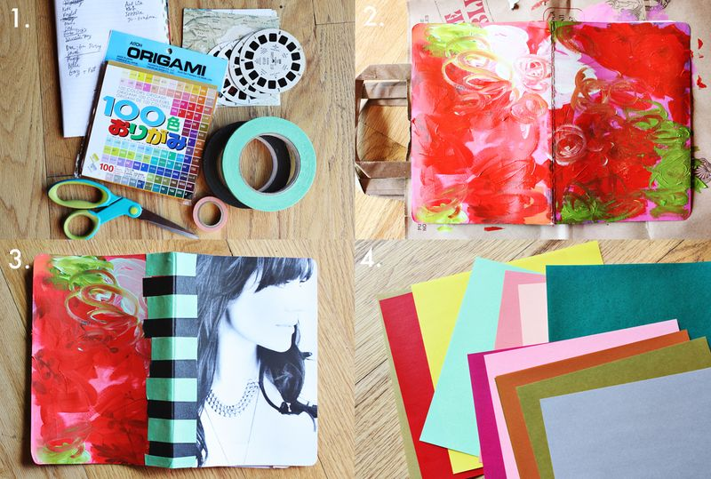 Elsies spring art journal a beautiful mess art journal process solutioingenieria Image collections