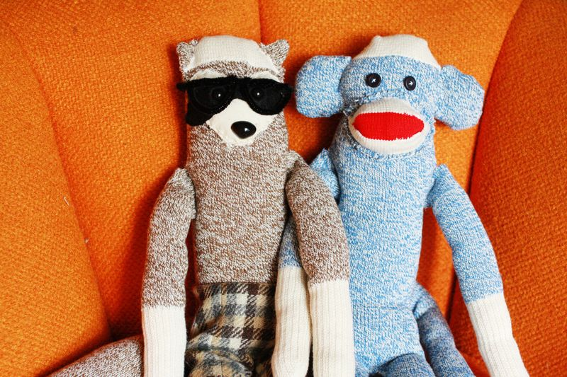 sock monkey toy pattern and tutorial