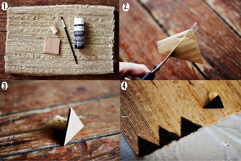 Table runner diy steps