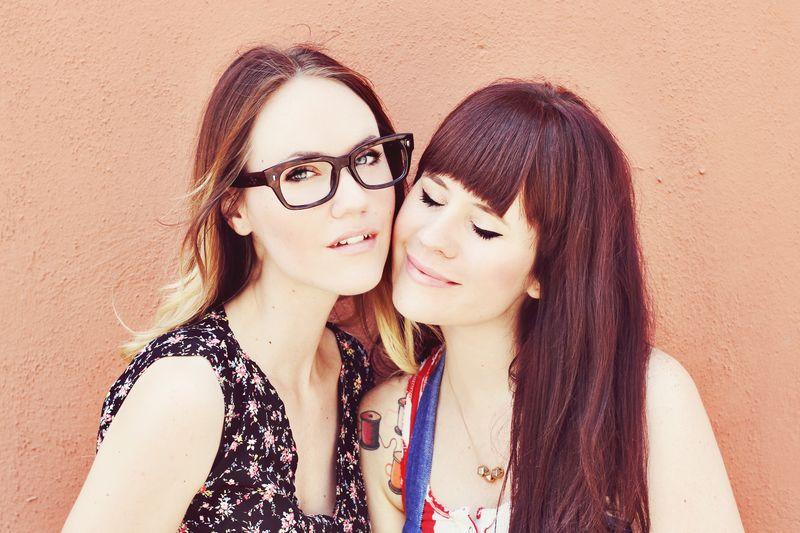 Sisters emma chapman + elsie larson