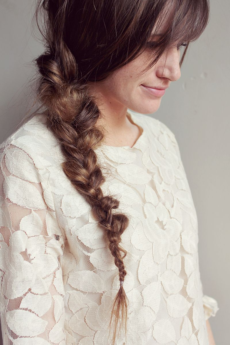 Messy Braid from A Beautiful Mess