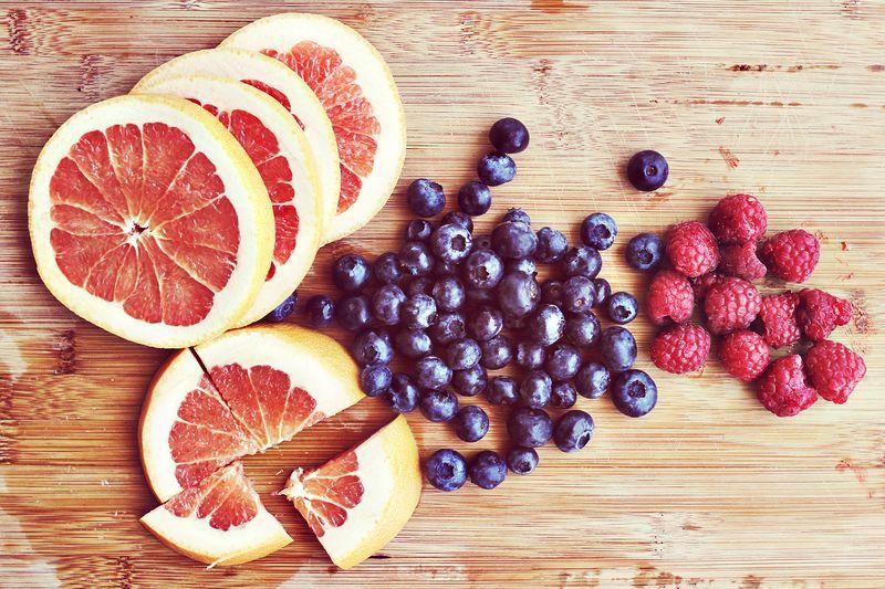 Fresh fruit makes everything better