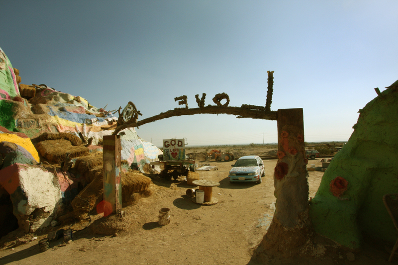 12 salvation mountain