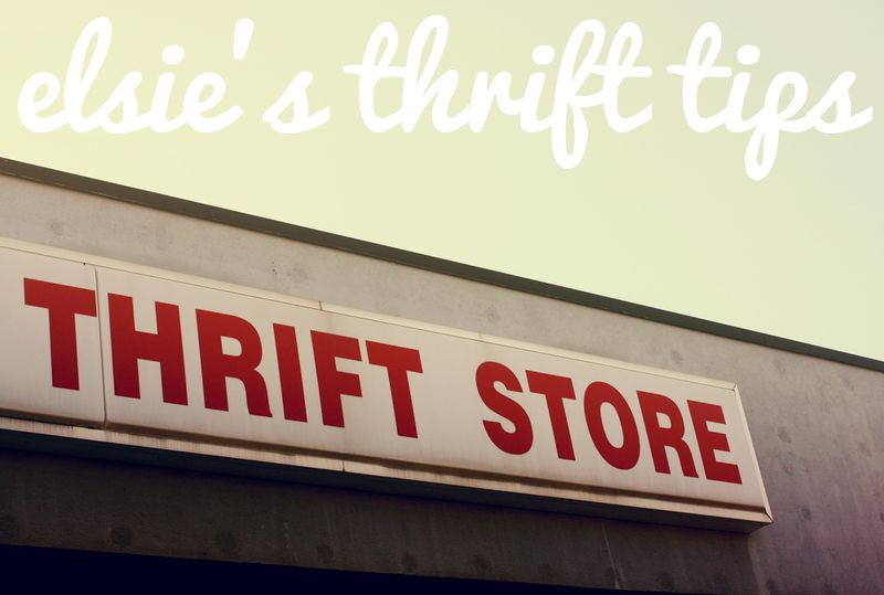 elsie's thrift tips, a beautiful mess