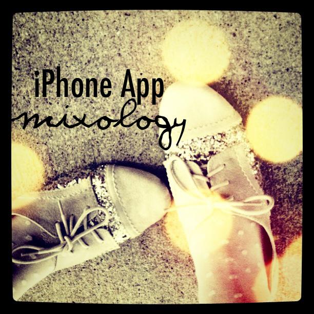 IPhone App mixology