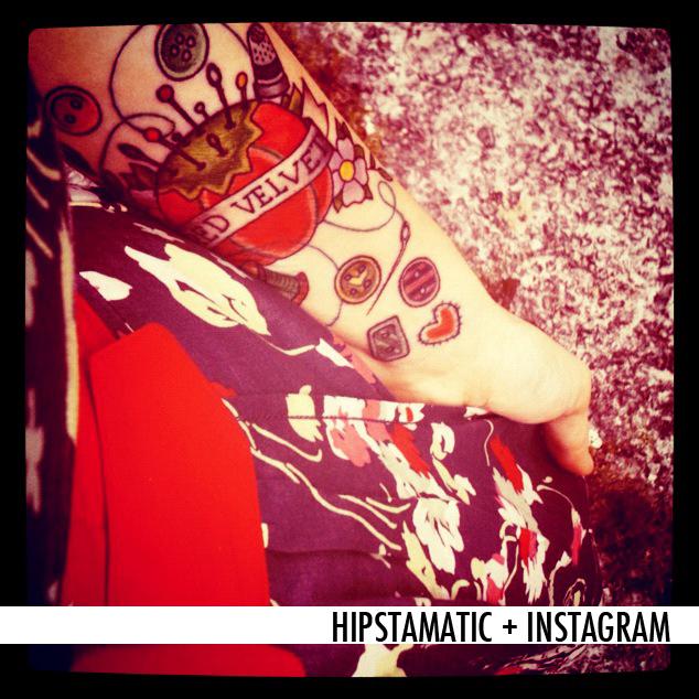 HIPSTAMATIC + INSTAGRAM