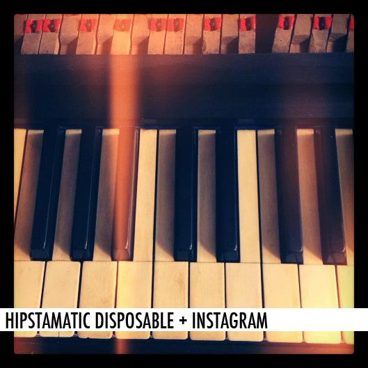 HIPSTAMATIC DISPOSABLE + INSTAGRAM