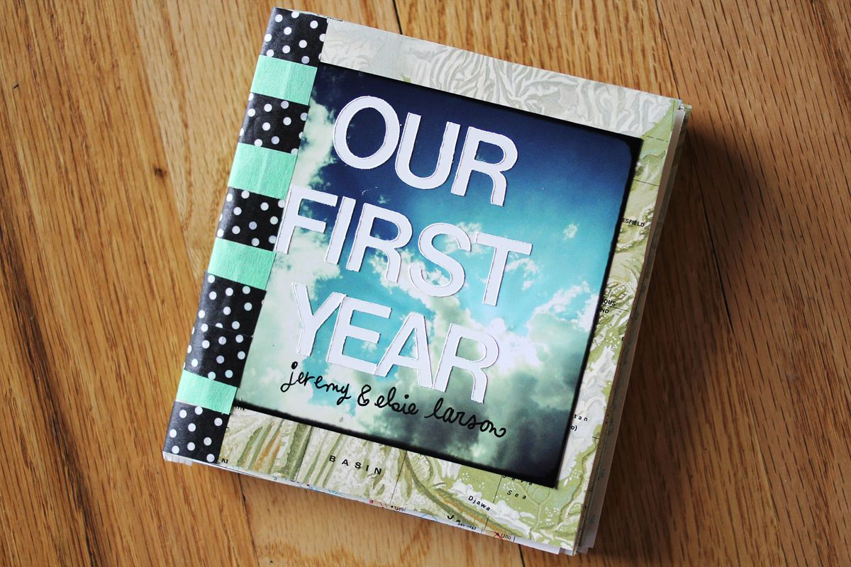 Our First Year: Instagram Scrapbook