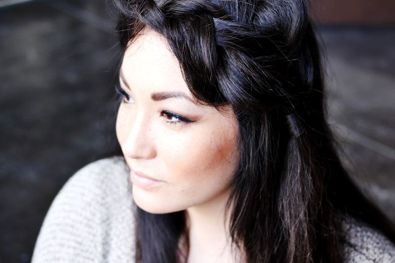 How To Style A Side Braid Two Ways A Beautiful Mess