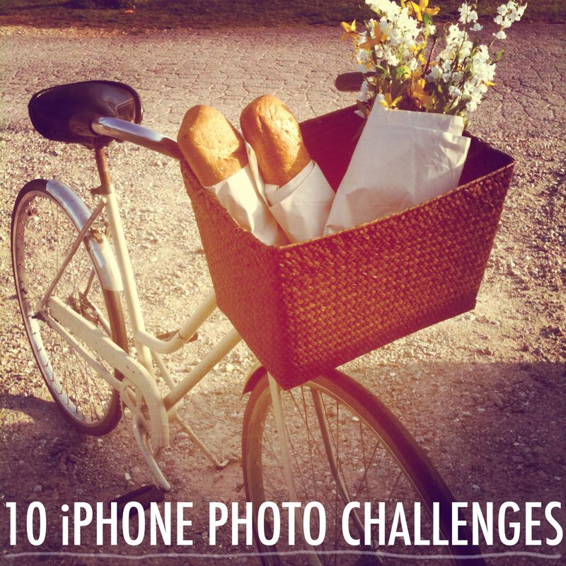 IPHONE PHOTO CHALLENGES