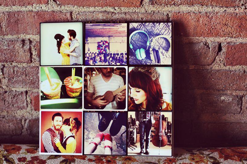 DIY INSTAGRAM CANVAS WALL ART & Instagram Canvas Wall Art - A Beautiful Mess