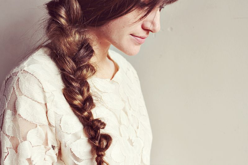 Messy Braid DIY