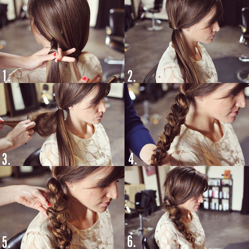 Pleasant How To Style A Messy Braid A Beautiful Mess Short Hairstyles Gunalazisus