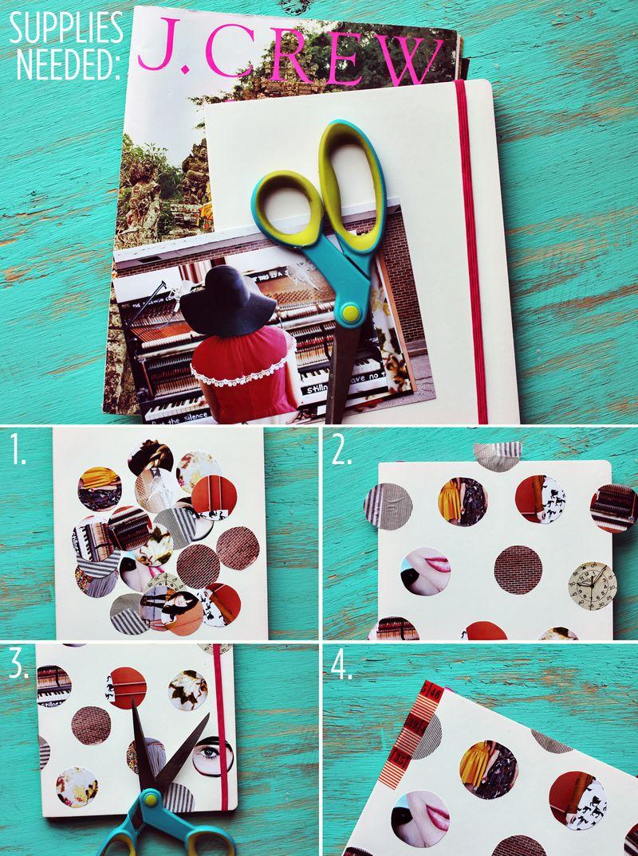 Photo Dot Journal Steps