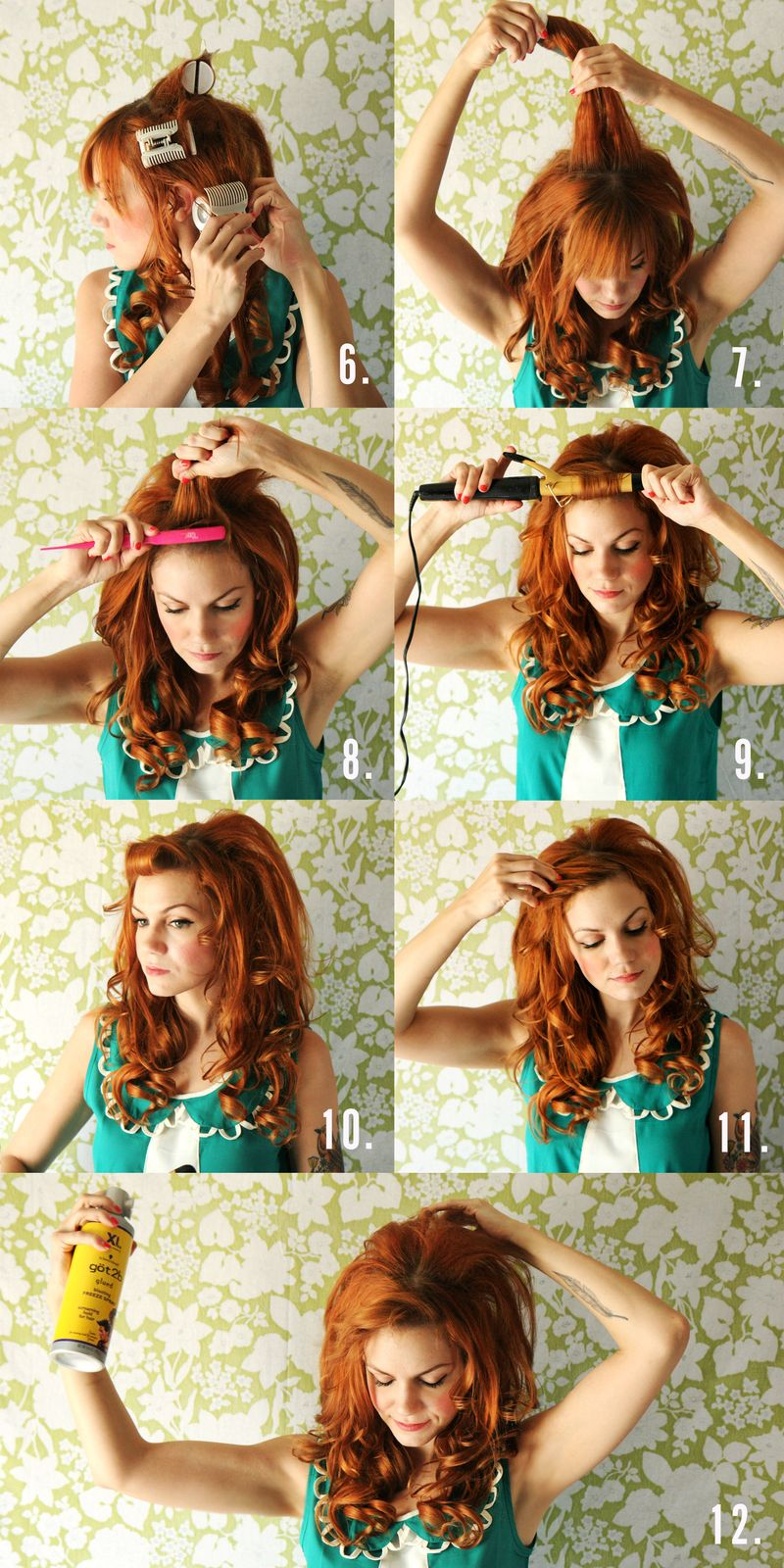 Dolly Inspired Hair Tutorial A Beautiful Mess