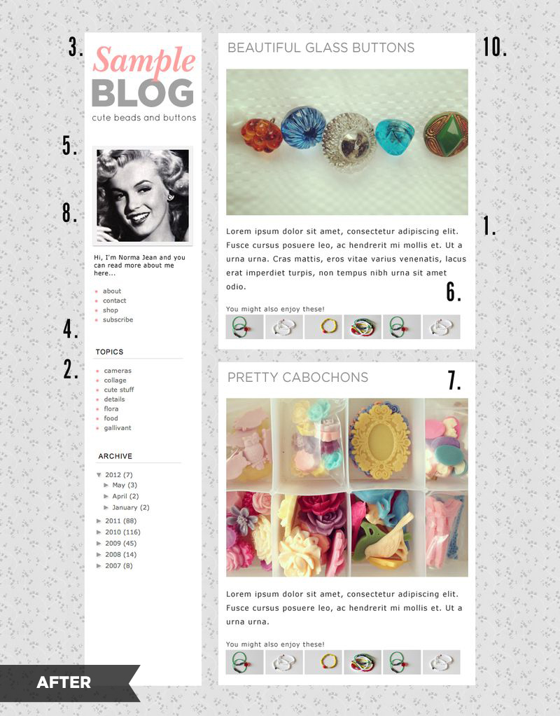 10 blog layout tips-after
