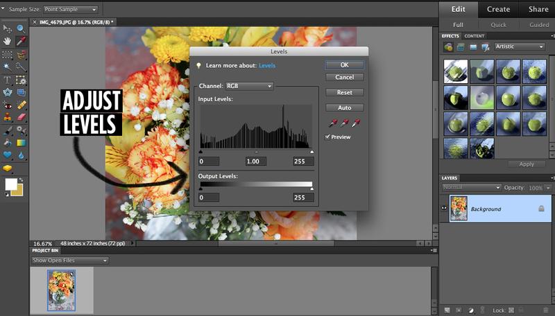 Adobe photoshop elements 4