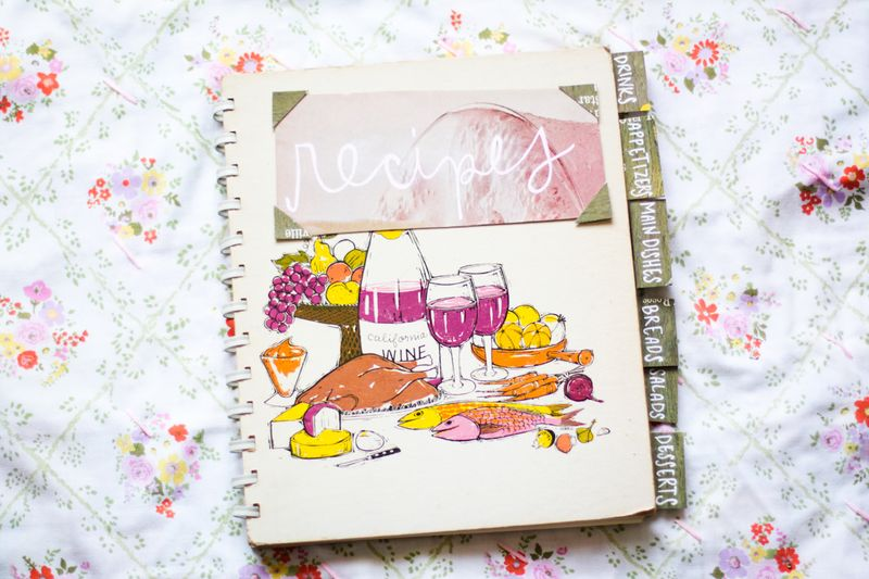 DIY Recipe Book A Beautiful Mess