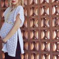 Maternity DIY: Make A Lace Top - July 26, 2012